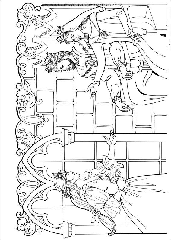 Kleurplaat Printen Prinses Malebog For B 248 Rn Farvel 230 Gning Af Sjove Disney Figurer